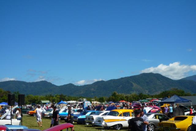 Cairns swapmeet blue sky